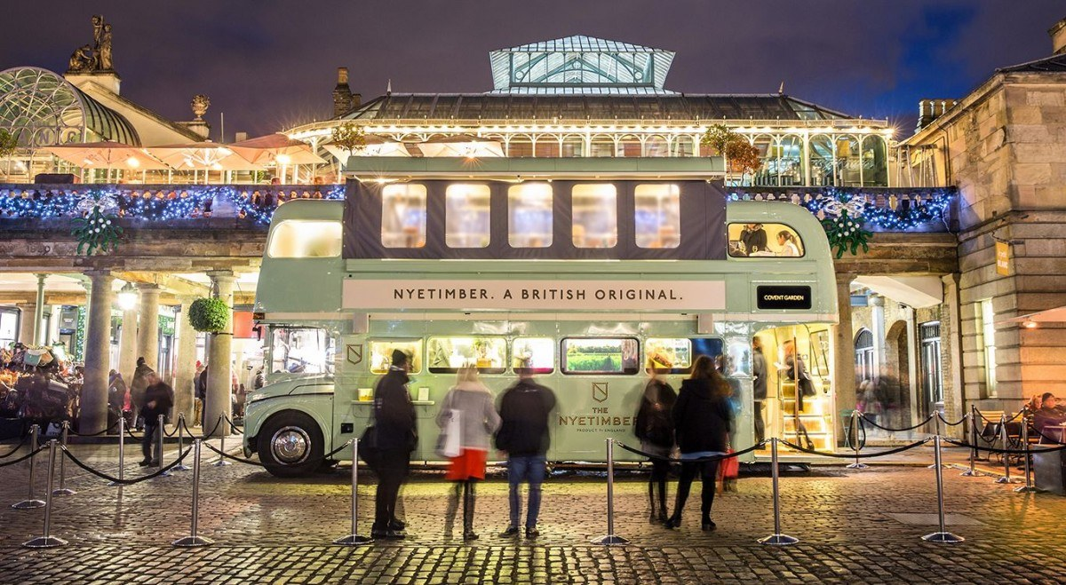 Nyetimber Routemaster bus festivals and events